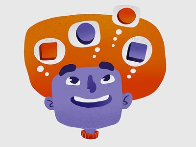 SpotOn.io - Illustrations procreate branding vr ar services illustration