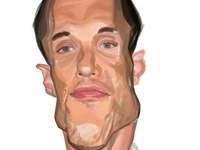 Ed Skrein caricature [work in progress]