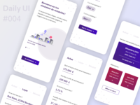 Calculator / Rentabilité - Daily UI #004 rent calculator challenge ux ui design dailyui app