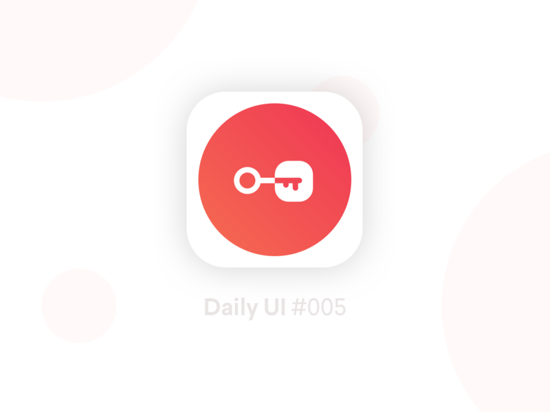 App icon - Daily UI #005 icon app challenge dailyui ux ui design