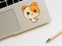 Realistic Sticker Mockup Psd Free Download