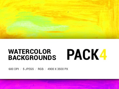 Free Watercolor backgrounds pack 4