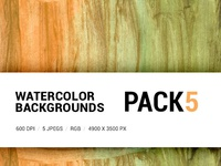 Free Watercolor backgrounds pack 5