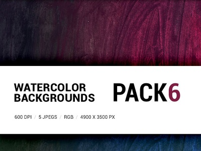 Free Watercolor backgrounds pack 6