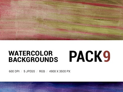 Free Watercolor backgrounds pack 9