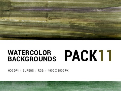 Free Watercolor backgrounds pack 11