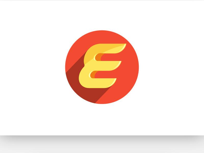 Letter E App Icon Free Download by Omair - Logo Designer on Dribbble