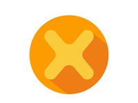 Letter X App Icon Free Download