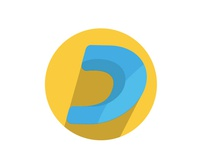 Letter D App Icon Free Download