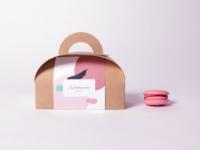 Nubamie macarons packaging