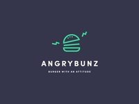 Angrybunz logo design