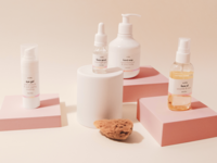 Seishe - skincare packaging bottles