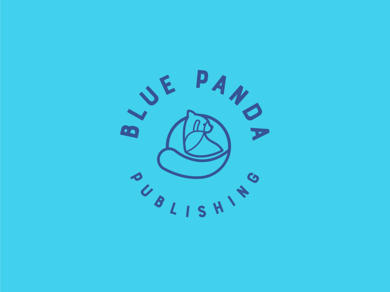 Blue panda publishing logo