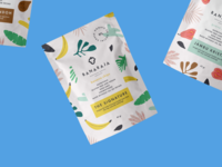 Banaraja healthy snacks branding