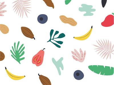Pattern design for Banaraja healthy snacks