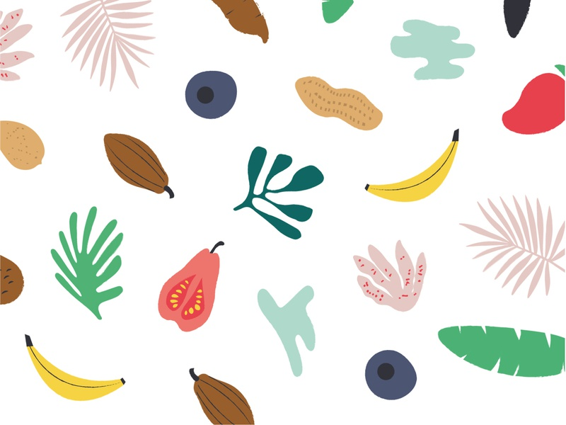Pattern design for Banaraja healthy snacks