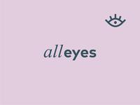 Alleyes logo design