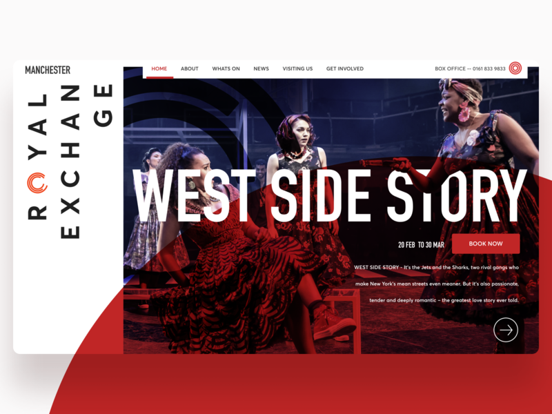 Manchester Royal Exchange Theatre Homepage