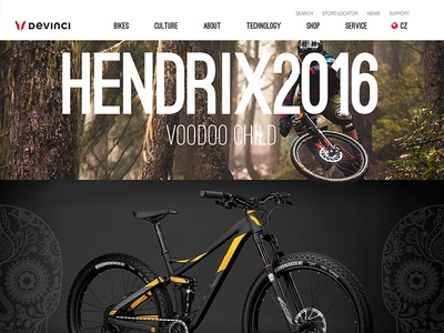 Davinci   Hendrix Mountain Bike   Concept Design