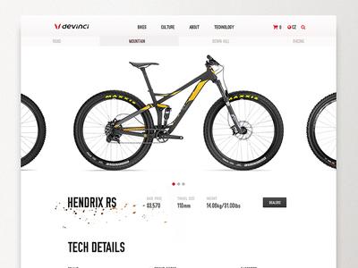 Devinci - Bike Selection and details