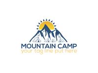 Mountain Camp Logo Design