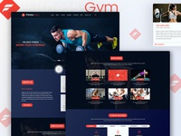 Fitness and Gym Landing Page for 2019