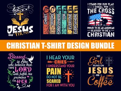 100+ Best Christian T-Shirt Design Bundle - Hello Dribble