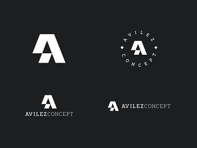 AvilezConcept concept logo concept sushi logo sushi typographic typography letter logo letter a logo design a logo monogram branding vector logo brand design visual mark logos creative brand