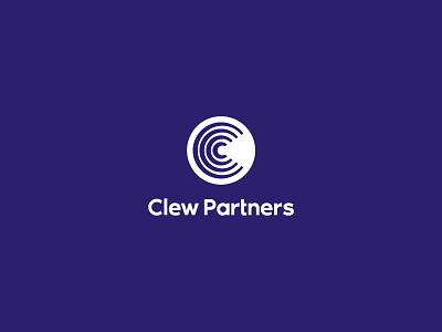 Clew Partners logo design digital logo digital comunication logo comunication symbol monogram vector branding design logo brand design visual mark logos creative brand c logo