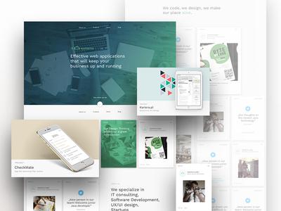 ITSystem website & branding