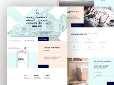 Checkmate – landing page