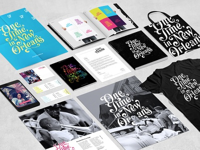 One Time, in New Orleans collection design system identity brand