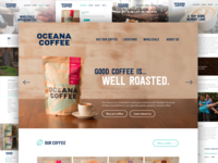 Oceana Coffee site design