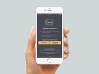 Wrist Upgrade Paywall iOS UI