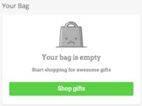 Empty Bag icon