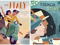 Vintage Poster Designs