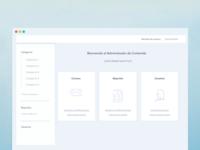 Wireframe Desktop / Pantalla principal