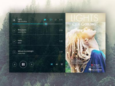 Music Player - DailyUI #009