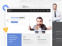 Mono - Creative WordPress Theme (W.I.P)