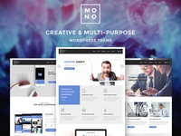 Mono - Creative WordPress Theme ( Coming Soon )