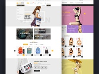 Cover Store - Premium Template Website for Shop