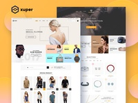 Xuper Store - eCommerce Layout Template