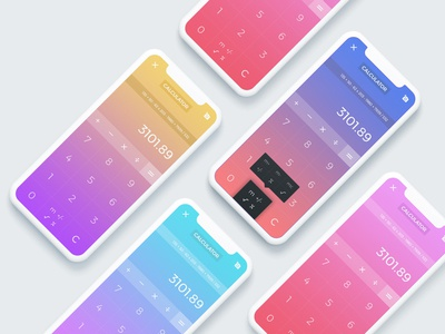 Calculator - UI Concept