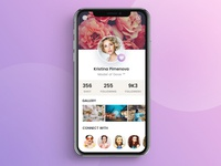 User Profile -  UI Concept