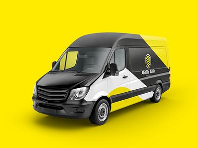 Abeille Rush - Logo redesign typography design redesign branding logo