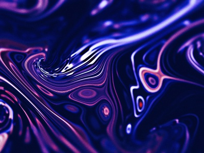 Experiment - 01 blur effect waves art design abstract distortion liquid