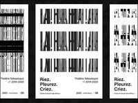 Sébastopol Theater - Poster concept