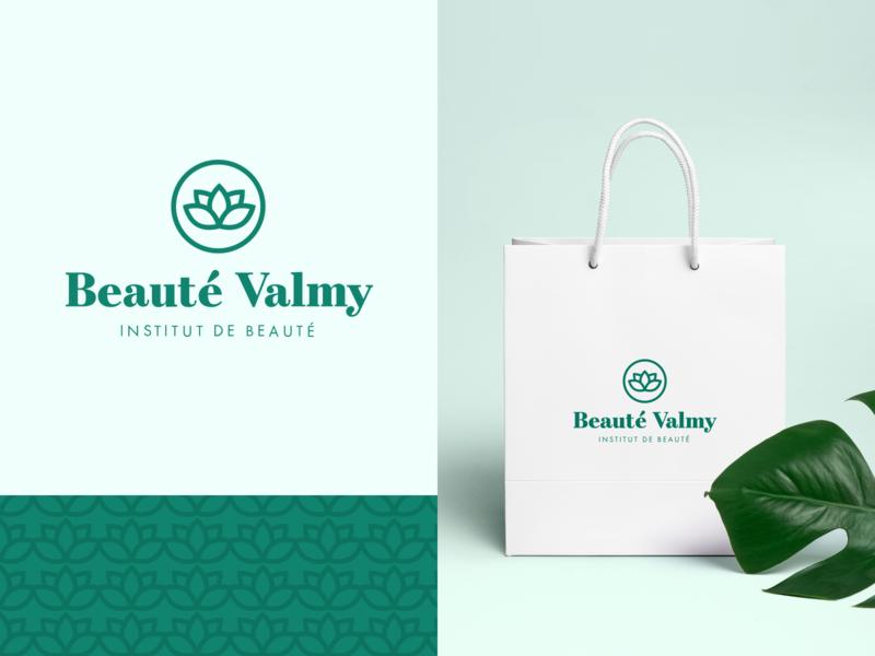 Beauté Valmy - Branding 🌿 beauty institute symbol brand and identity beauty typography identity logotype font logo branding