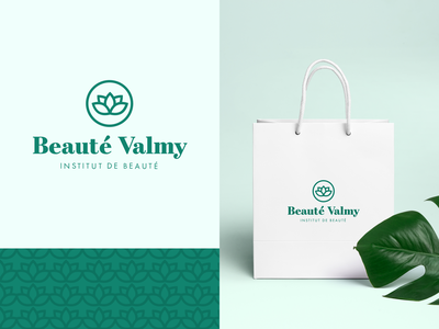 Beauté Valmy - Branding 🌿 beauty institute symbol brand and identity beauty typography identity logotype font logo branding