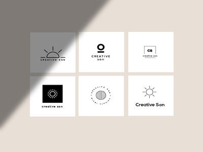 Creative Son Logo Ideas